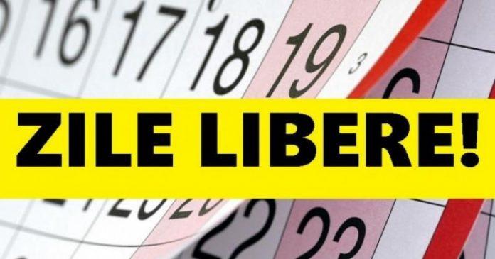 Puține zile libere pentru români în 2021