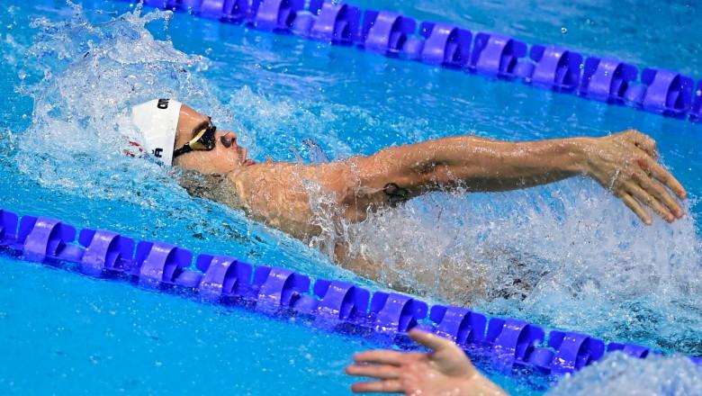 Robert Glinţă s-a clasat al optulea în finala de la 100 m spate, la fel ca la Rio